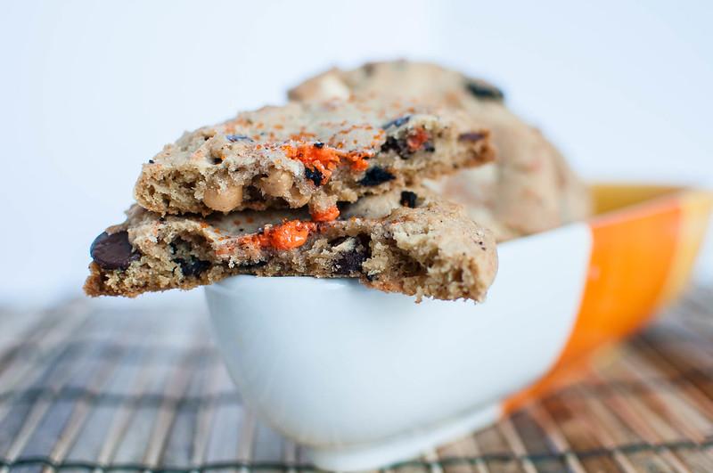 Loaded Cookies and Cream Halloween Cookies 10