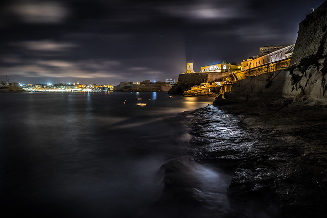Valletta by night - Malta - Cityscape, travel photography