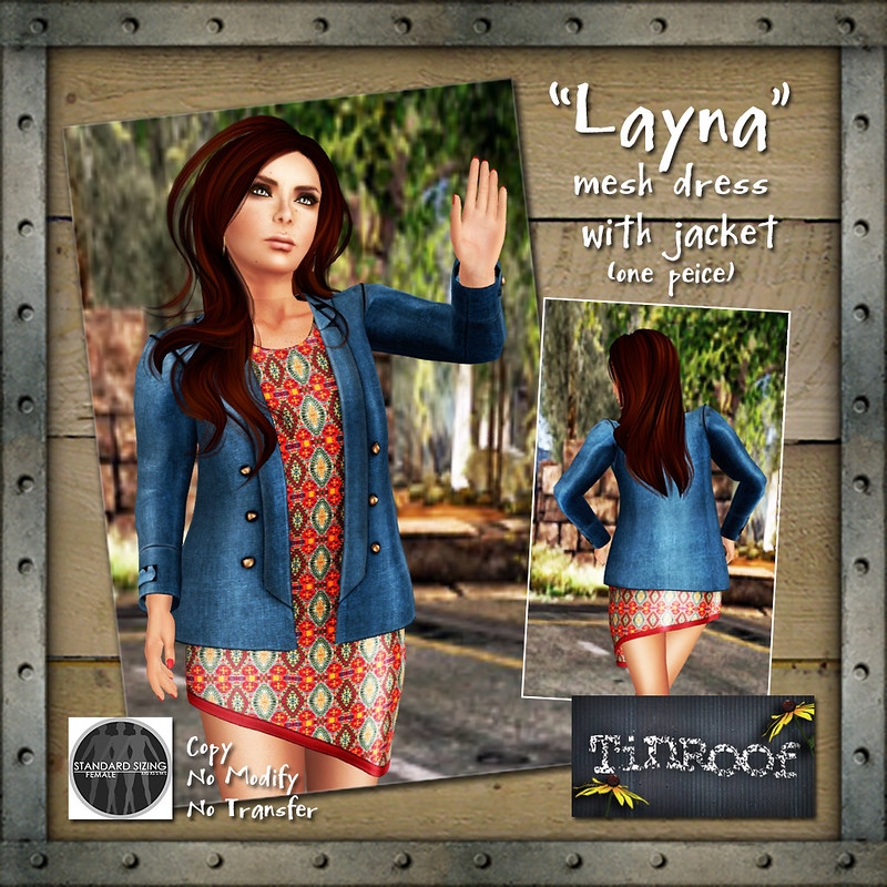 "TinRoof ""Layna"""
