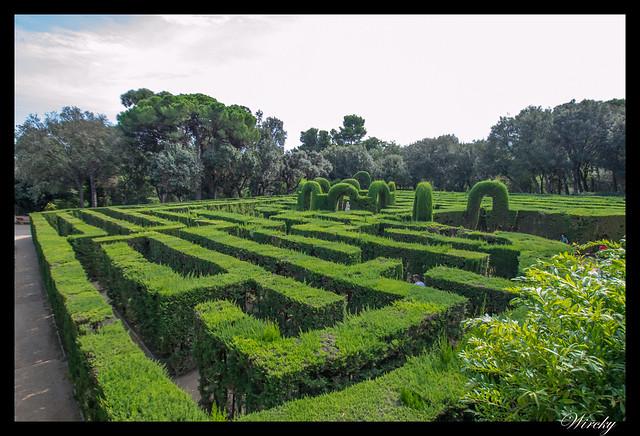 Parque del Laberinto de Horta en Barcelona - Laberinto