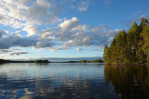 sky lake finland fishing lakeview kyyvesi lakeland отдых небо рыбалка красота озеро финляндия kuvaslahti visitlakeland миккели rockandlake