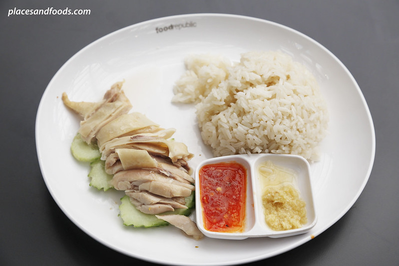 siam center food republic singapore sergeant chicken rice