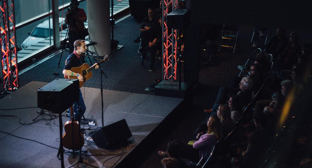 James Maakestad @ Hear Nebraska Stage | 10.17.15 | Holland Stages Festival