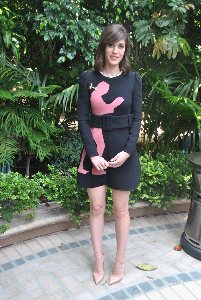 Лиззи Каплан — Пресс-конференция «Мастера секса» 2014 – 23