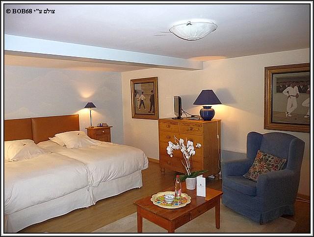 החדר ב- Domaine de Rasigous