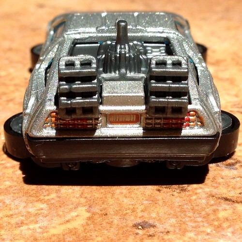 Hot Wheels 2015 - Hover mode DeLorean (Back to the Future)