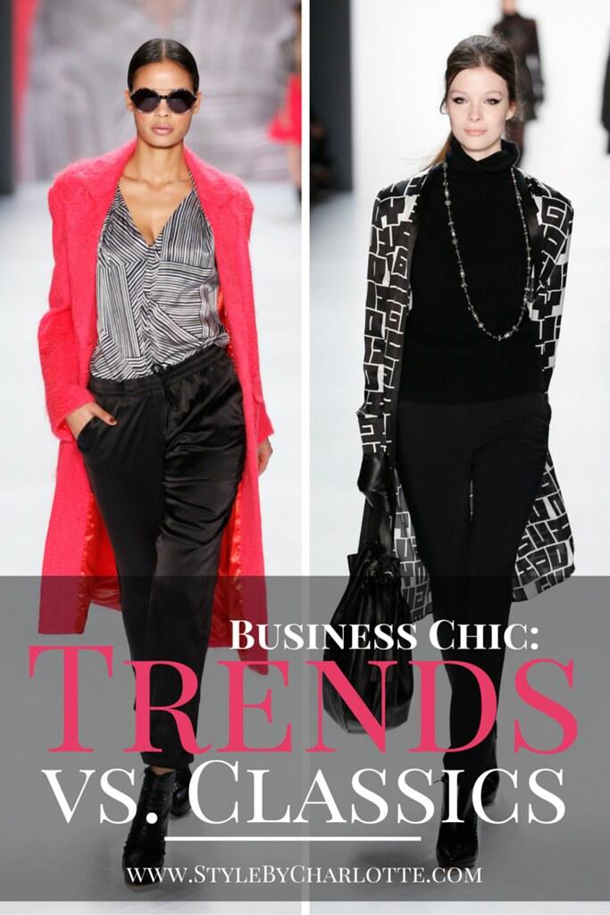 Trends Vs. Classics