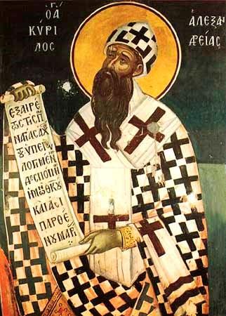 Sfantul Chirillos al Alexandriei