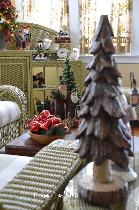 2015 Chrismas Sunroom - Housepitality Designs