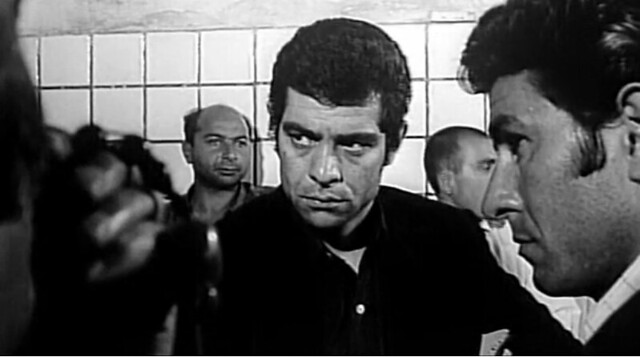 نمایی از پشت صحنه فیلم قیصر