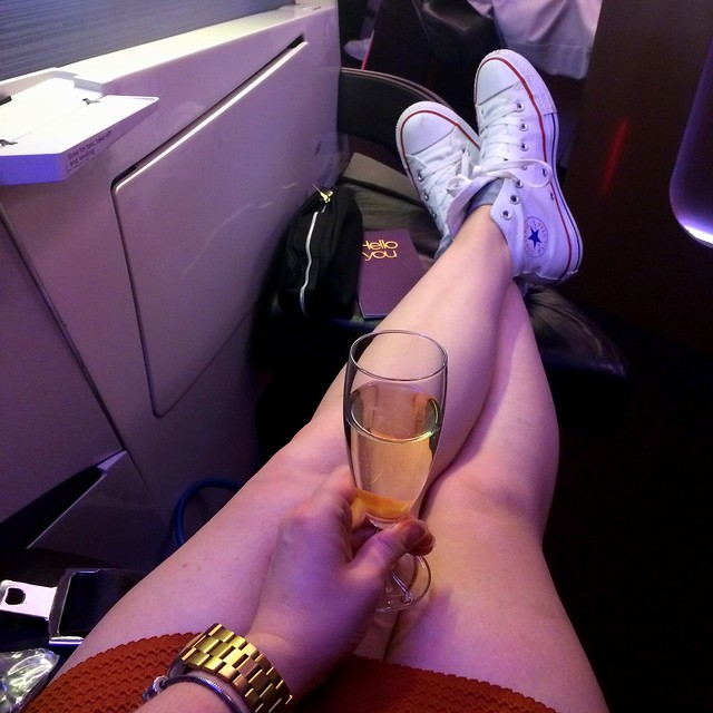 How to fly first class with Virgin cheap (1)