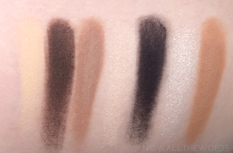 Kat Von D Mi Vida Loca Remix Eyeshadow Palette swatches review eye look (7)