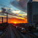 Birmingham Sunset by John Elrod