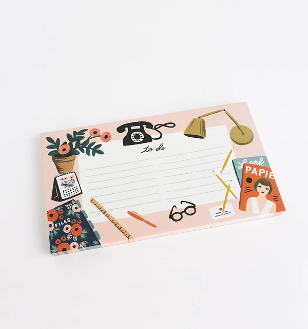 rifle paper co paper crown desktop notepad 02
