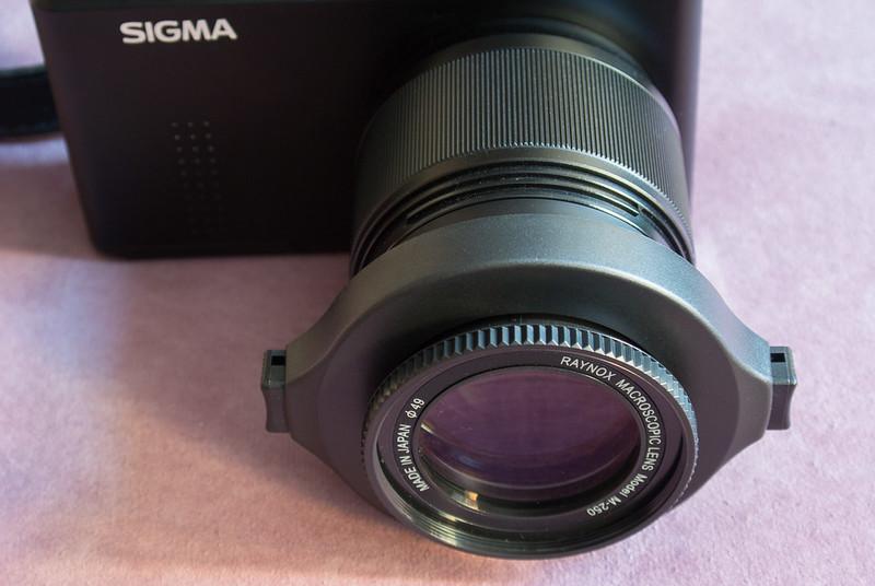 Sigma DP3 Merrill + Marumi DHG200 + Raynox DCR-250