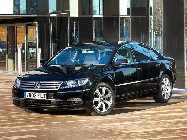 Volkswagen Phaeton V6 TDI для рынка Британии. 2010 – 2015 годы