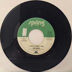 JOE SIMON:GOING THROUGH THESE CHANGES(RECORD SIDE-B)
