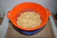 14 - Kartoffeln abtropfen lassen / Drain potatoes