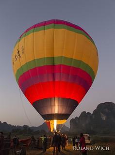 Vang Vieng Ballooning