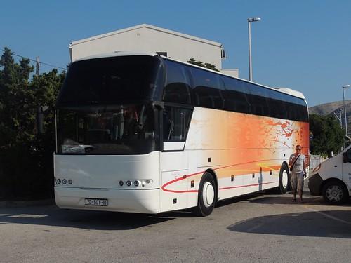 buses coaches croatia antonio pag neoplan cityliner