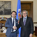 Secretary General Meets with the Mayor of Medellin