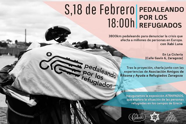 pedaleando por las refugiadas