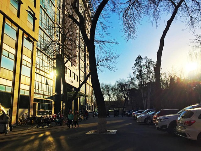 #communicationuniversityofchina #传媒大学 #campus #sunrise #beijing #北京