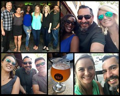 Great pre-St-Patrick's-Day happy hour with some fabulous coworkers.