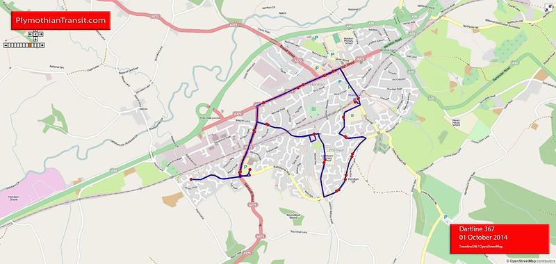 Dartline Route-367