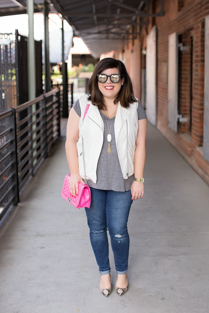 Head to Toe Chic, fall transition outfit idea, old navy