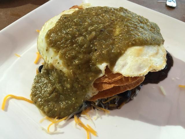 Huevos rancheros - The Grille at Shadowrock