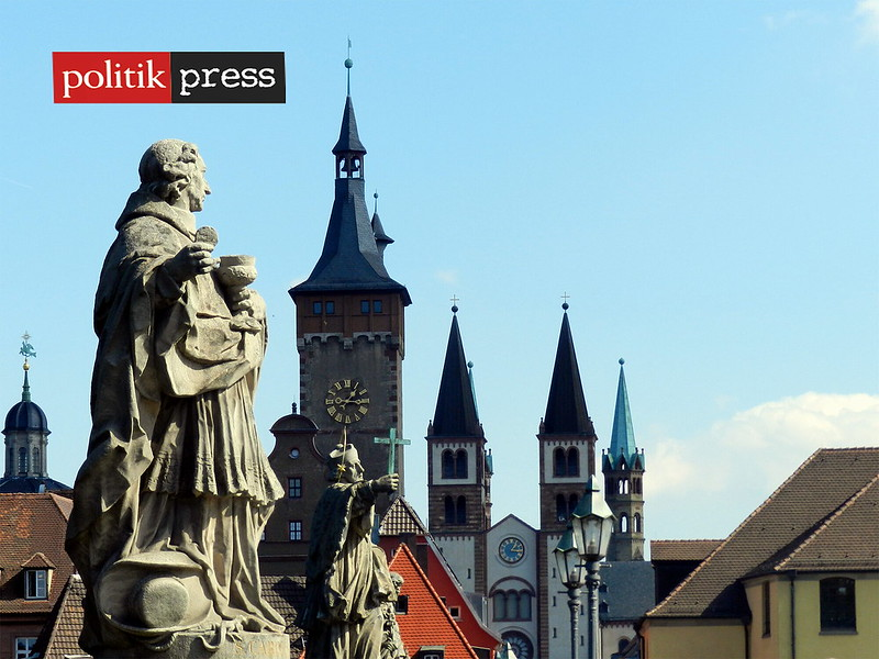 Wuerzburg Alemania Ciudades Politikpress