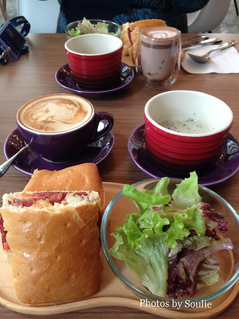 Lunch @ Riposante Cafe, Bangsar South