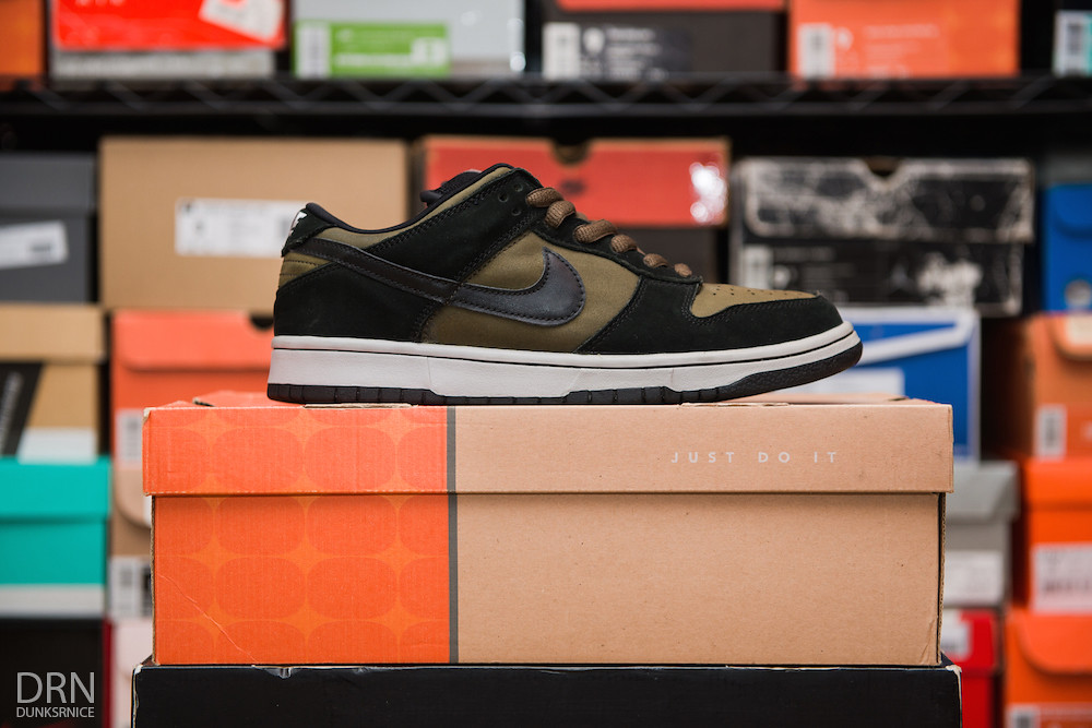 Lodens Dunk Low SB's.