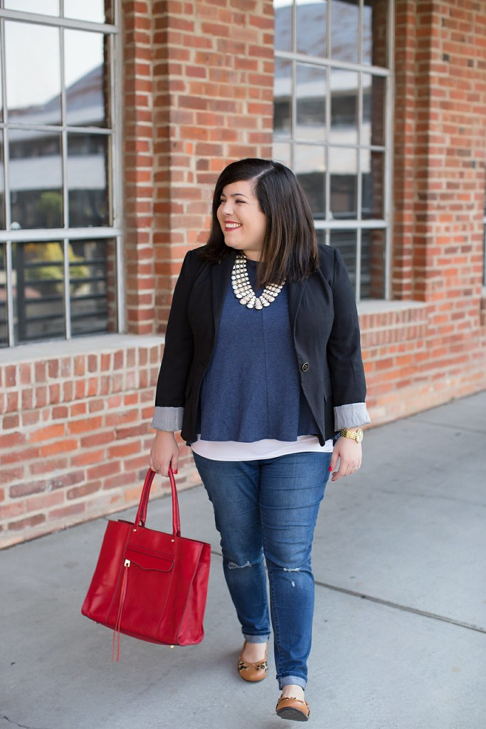 Head to Toe Chic, fall outfit idea, LOFT top