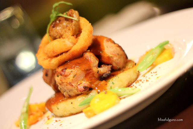 Terraz Bistro Makati City Grilled Bacon Wrapped Pork Medallion And Foie Gras