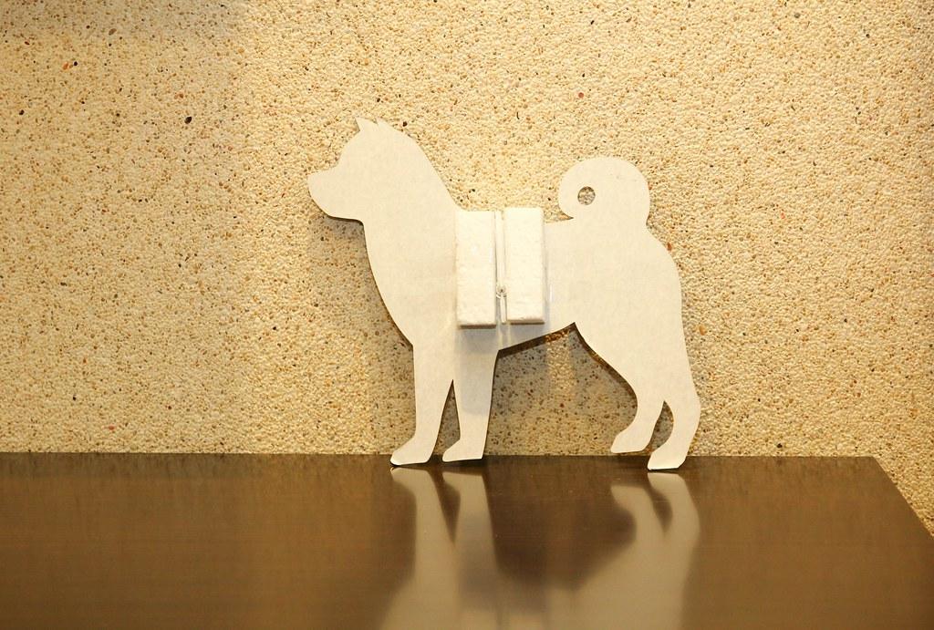 柴犬時鐘 (4)