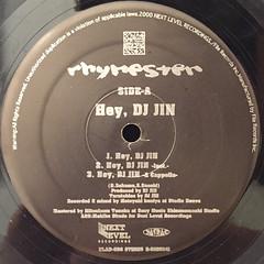 RHYMSTER:HEY,DJ JIN(LABEL SIDE-A)