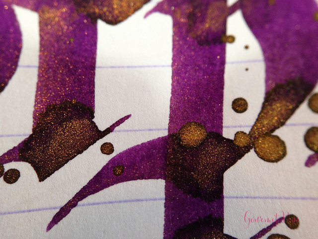 Ink Shot Review Diamine Purple Pazzazz (8)
