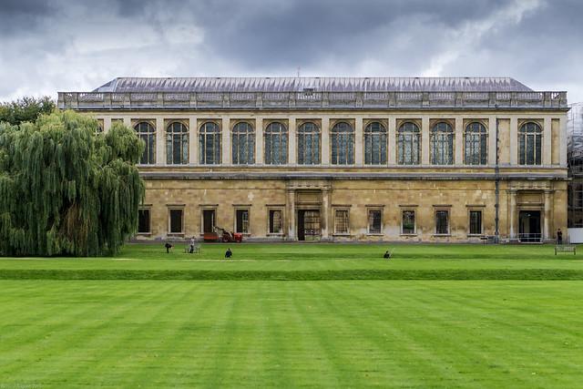Header of Trinity College, Cambridge