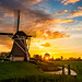 Dutch windmill by Thierry Hennet
