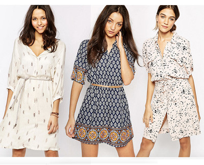 Shirt Dresses fro ASOS