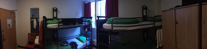 6-person room. YHA London Central.