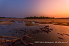 Sunset over the Luangwa River, South Luangwa National Park, Zambia by Ulrich Münstermann