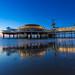 Scheveningse pier at blue hour by nldazuu.com