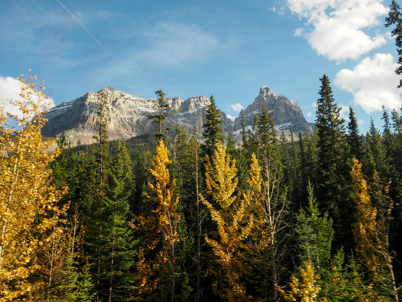 Cathedral Mountain in Yoho National Park