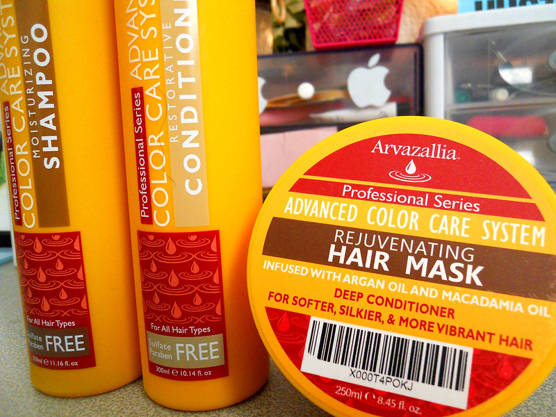Arvazallia Advanced Color Care System with Argan Oil and Macadamia oil 3