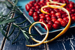 Gather your cranberries