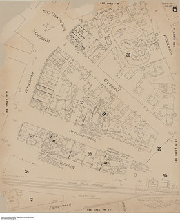 Insurance plan of Guelph, Ontario, February 1897 / Plan d'assurance-incendie de Guelph (Ontario), février 1897