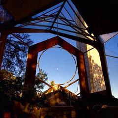 Wayfarers #chapel #palosverdes #moon